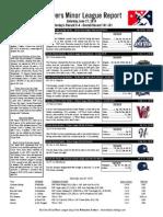 Minor League Report 15.06.27
