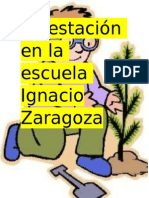Forestación en La Escuela Ignacio Zaragoza