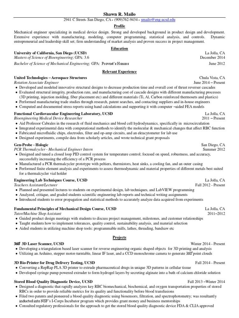 mailo shawn resume | 3 D Printing (11 views)