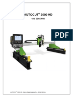 Manual Auto Cut 3000 Hd Rev. a- Cnc Edge Pro