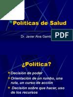 Politicas Sanitarias 2-Dr.alva