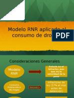 Modelo RNR Aplicado Al Consumo de Drogas