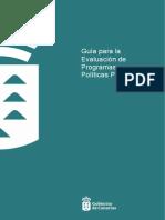 Guía Para La Evaluación de Programas y Políticas Públicas