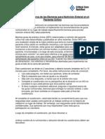Cuestionario Acerca de Las Barreras Para Nutrición Enteral en El Paciente Crítico