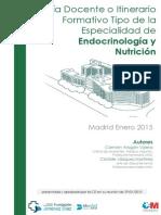 GUIA DOCENTE TIPO Endocrinología y Nutrición 2015
