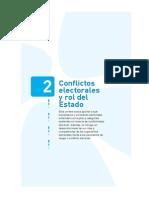 conflictos electorales