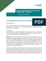 Protocolos Para La Prescripción de Nutrición Parenteral y Enteral 2