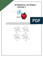 Paquete de Reactivos Pre Enlace Ciencias 2