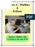 A Tribute to Eustace Mullins
