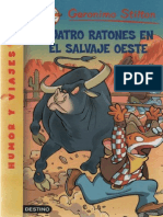 Geronimo Stilton - Cuatro Ratones en El Salvaje Oeste