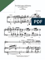 Chi il bel sogno di Doretta - G. Puccini