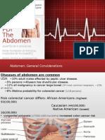 Physical Examination Abdomen