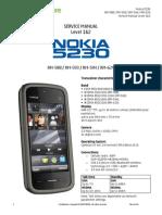 Nokia 5230 Service Manual