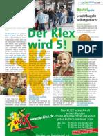 Der Klex wird 5