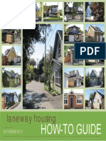 Laneway Housing Howto Guide