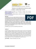 Remediación de Aguas Contaminadas Con Cromo Utilizando Diferentes Biomateriales Residuales