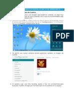 Personalizando La Pantalla Inicio de Windows 8