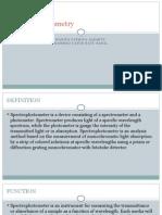 spektrofotometri tugas D3 Teknik Kimia