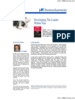 Developing the Leader Within You_BIZ