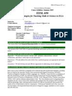 eesl 650 syllabus 2015