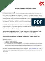 Invitación Al FJRC 2015