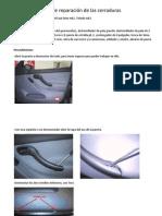 Manual de Reparacion de Cerradura Puertas Delantera y Traseras. Alfonsin