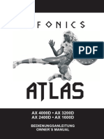 ATLAS Manual statie