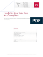 More Value From Your Survey Data_spss