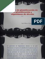 Modelos de Planificación de La Planificación y Algoritmos