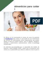 5 Hábitos Alimenticios Para Cuidar Tus Riñones