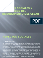 Aspectos Sociales y Económicos Del Departamento Del Cesar