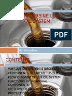 Steam Turbine Lube Oil and Control Oil System