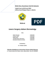 Referat - Laser Surgery in Dermatology