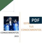 """Bases del Concurso """"Conocimientos"""" - CONEIC 2015"""