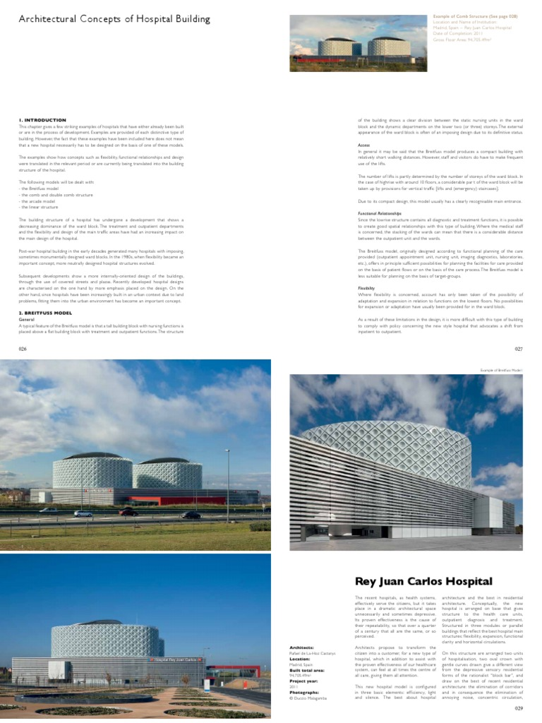 General Hospitals Planning and Design | Hospital | Patient