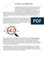 Tecnicas Para Atraer Visitas A Las Paginas Web