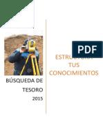 """Bases del concurso """"Búsqueda de Tesoro"""" - CONEIC 2015"""