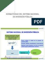 Normatividad Del SNIP - MEF (1)