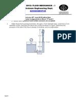 Assignment-3 Fluid Mechanics