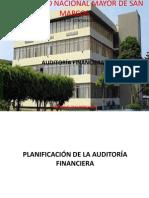 PLANIFICACION DE AUDITORIA