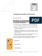 Chapter 2 - Surface Mining Methods