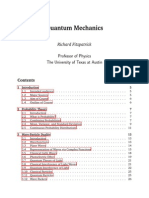 quantum mechanics by richard fitzpatrick