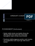 Kuliah 5 - Operant Conditioning2