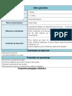 Propuesta Pedagógica Didáctica. Examen Final