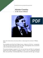 Alistair Crowley