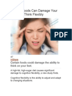 Certain Foods Can Damage Your Ability to Think Flexibly