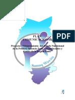 PLAN DE COMUNICACION PROYECTO NUTRICION.doc