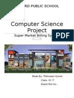 C++ super market billing system