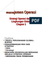 CHapter 2 Operation Strategy