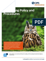 Purchasing Policy and Procedures-Knowledge How To
